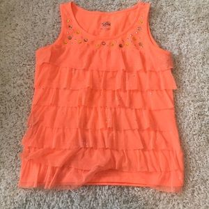 Justice Girl's Ruffle Top